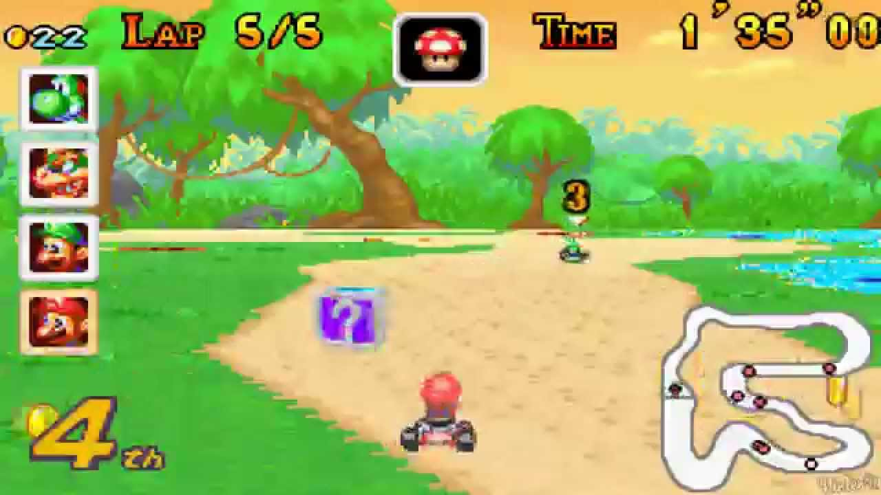 Mario Kart Super Circuit All Tracks