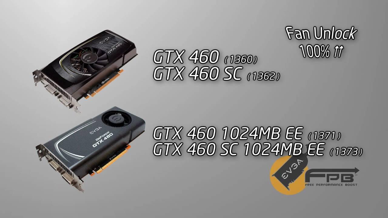 EVGA GTX 460 FPB (Free Performance Boost)