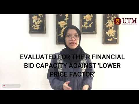 TASK 7 l NUR HAFIRA ADZHAR l Selection of Contractor Using Pre-Qualification Method