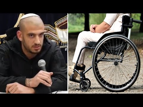 ☢ בול פגיעה - נס גלוי בשידור חי: נכה קם מכיסא גלגלים! מדהים אסור לפספס...