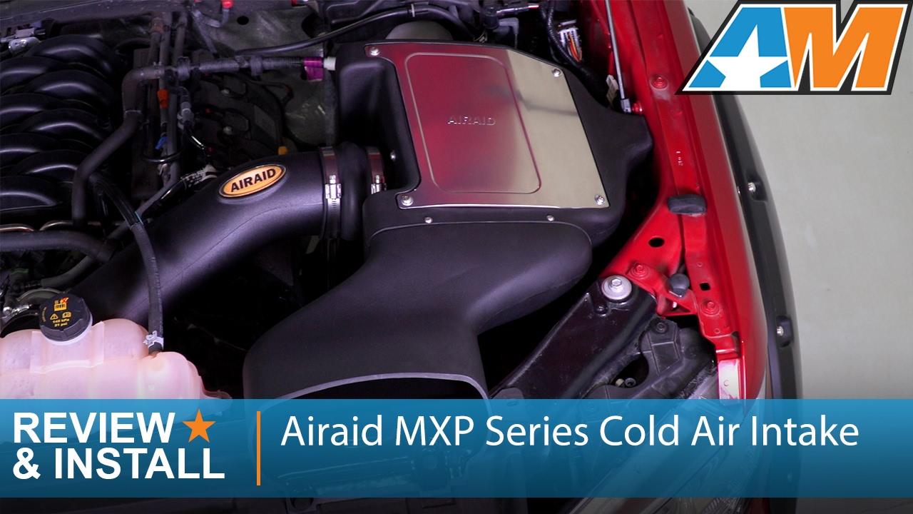 2015 2017 Ford F 150 5 0l Airaid Mxp Series Cold Air Intake Review