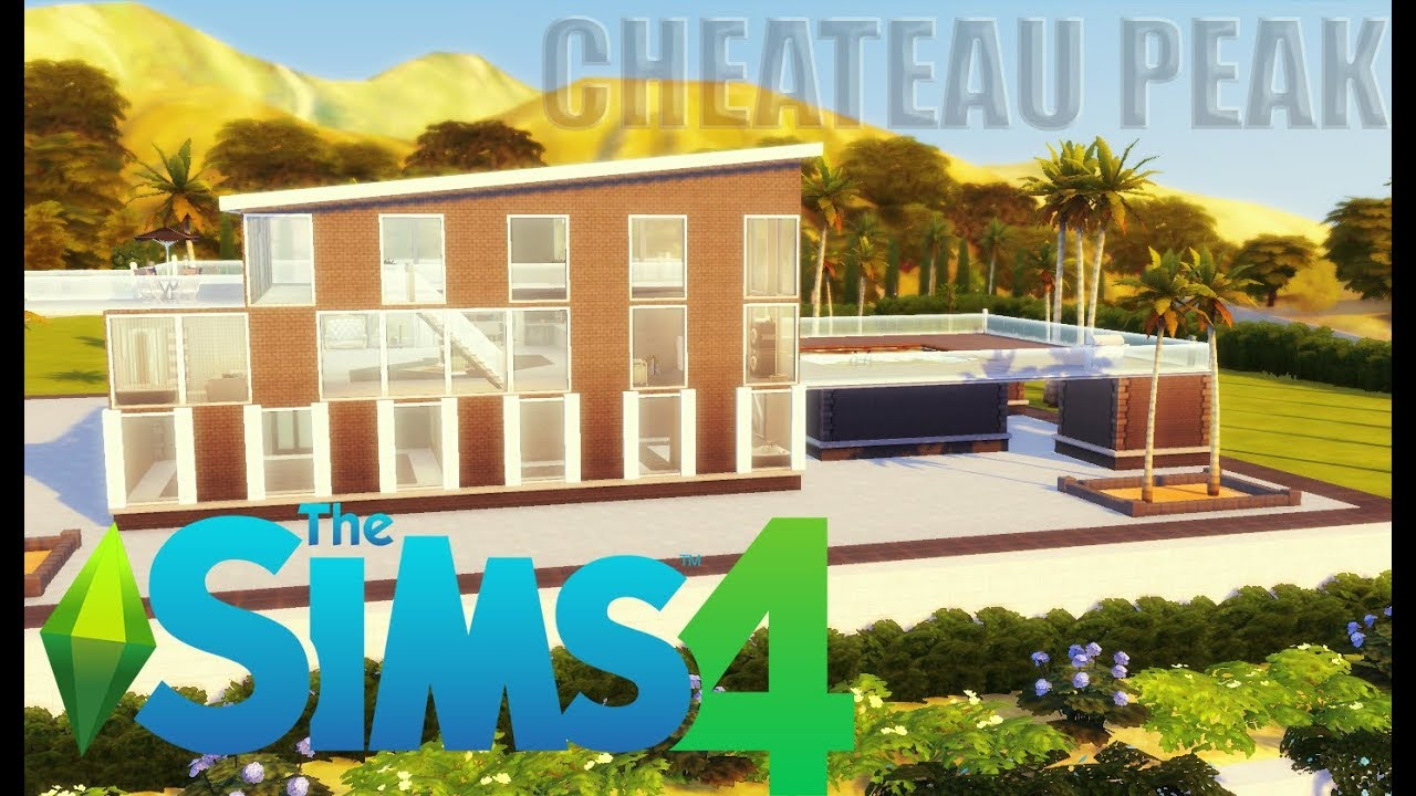 The Sims 4 | Get Famous | Chateau Peak Renovation Speed Build PT1
