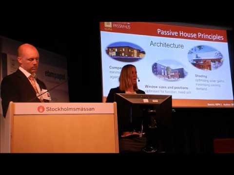 Intressegrupp Passivhus föreläser på Nordbygg Sustainable Days 2014