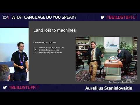 Aurelijus Stanislovaitis - Man vs Machine: manual and automated security testing