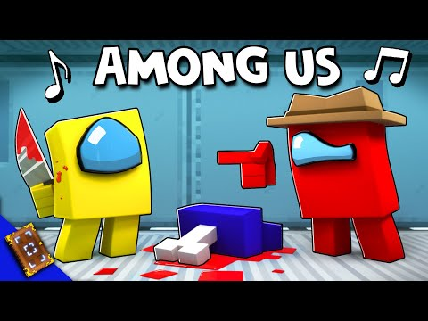 """AMONG US 🎵 Minecraft Animation Music Video [VERSION A] (""""Lyin' To Me"""" Song by CG5) - EnchantedMob"""