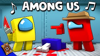 "AMONG US 🎵 Minecraft Animation Music Video [VERSION A] (""Lyin' To Me"" Song by CG5)"