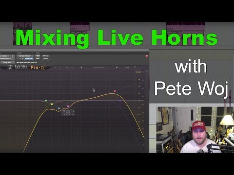 Mixing Live Horns in a HipHop track with Pete Woj - Warren Huart: Produce Like A Pro