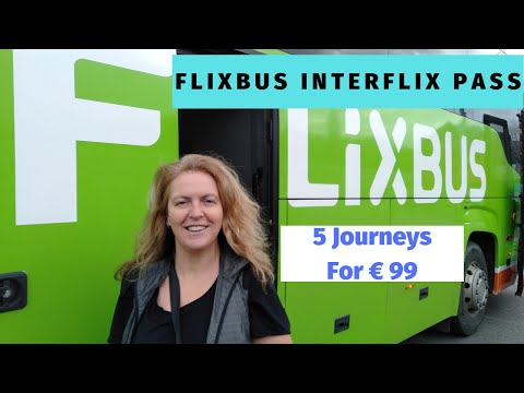 Cheapest Way To Travel In Europe – Flixbus Interflix Pass 5 trips €99 – InterFlix challenge