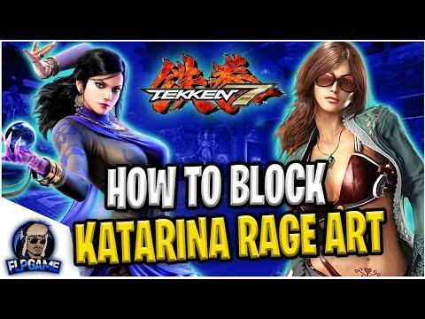 Zafina Gameplay Tips & Tricks | How To Block Katarina Alves Rage Art | Tekken 7