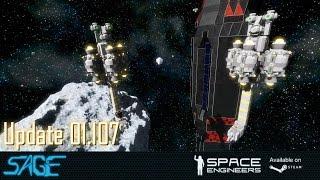 Space Engineers, Admin Tools (Update 01.107)