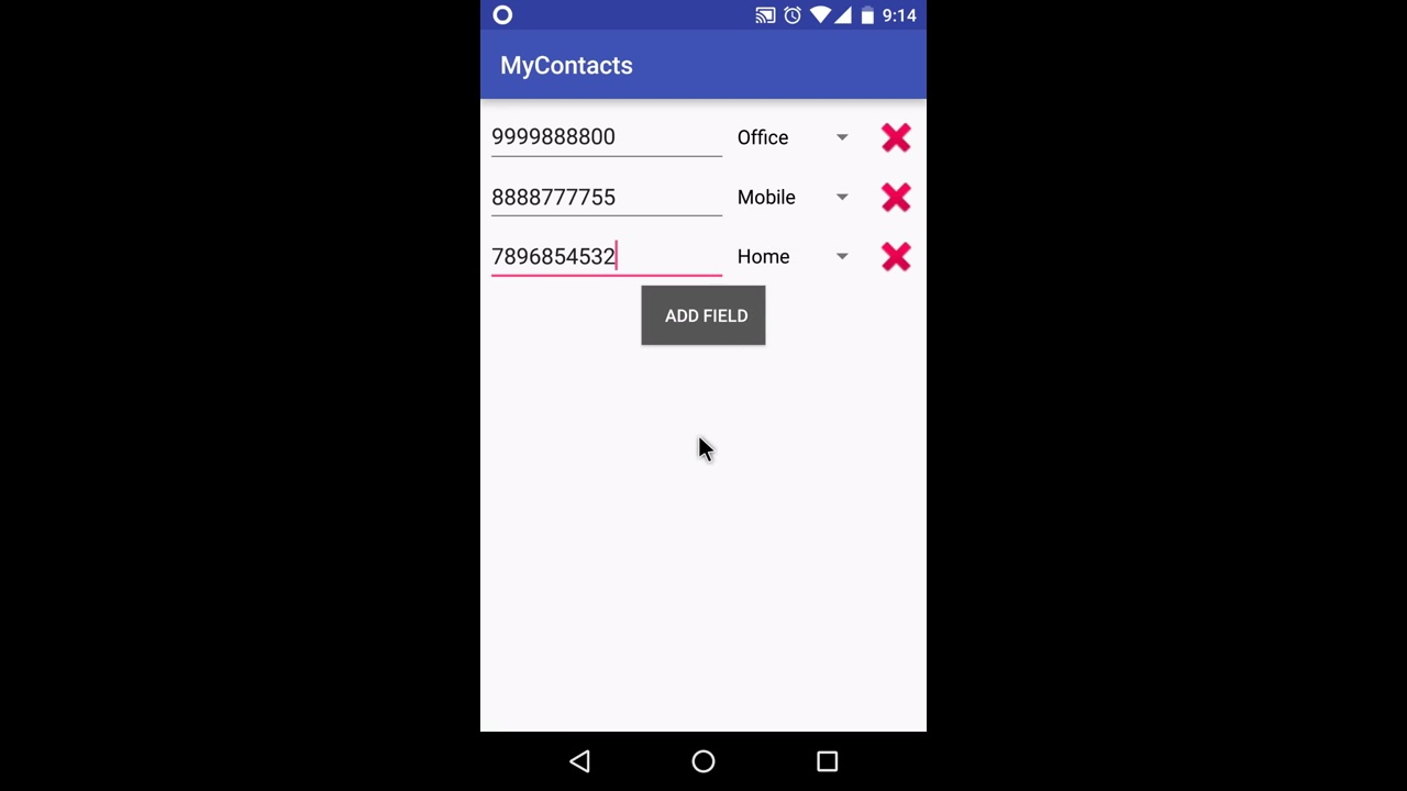 Dynamically Add and Remove Views in Android