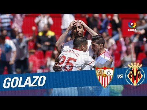 Golazo de N'Zonzi (2-2) Sevilla FC vs Villarreal CF