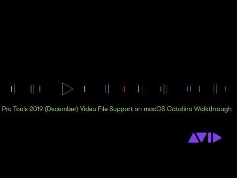 Pro Tools 2019 (December) On MacOS Catalina