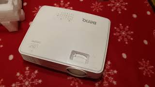 MS527 Benq Digital Projector Unboxing