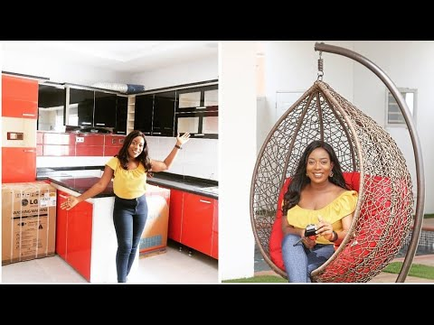 IT'S A NEW HOUSE TOUR | LIFE IN LAGOS |SISI WEEKLY #115
