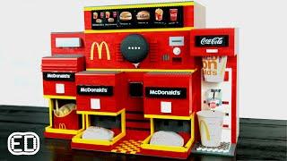 OK Google, One Cheeseburger | McDonald's LEGO Google Assistant Automated Vending Machine