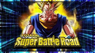 POTARA Super Battle Road BEATEN! GODLY FUSION POWER! | Dragon Ball Z Dokkan Battle
