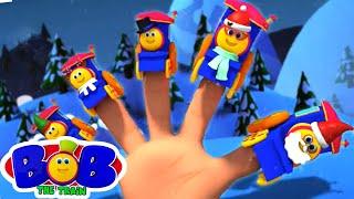 Рождественский палец семья | потешки | детские песни | Bob The Train Russia | музыка для малышей
