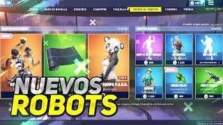 *NEW ROBOT PACK* NEW MISSIONS FORTNITE STORE APRIL 17