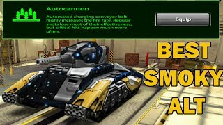 Tanki Online Best Smoky Alteration - Autocannon