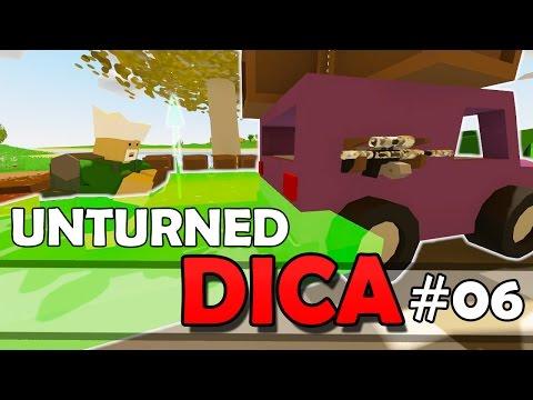 Unturned Dica #06 - Como Movimentar A Plataforma