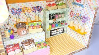 DIY Miniature Dollhouse Candy shop
