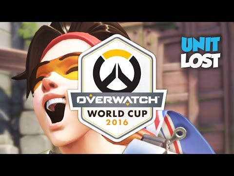 Overwatch World Cup 2016 - All Team GB Games!
