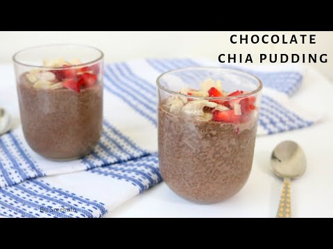 Chocolate Chia Seed Pudding | Almond Milk | WEIGHTLOSS RECIPE | Healthy Breakfast Recipe