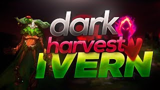 GIMME MORE DARK HARVEST IVERN JUNGLE! Season 9 Gameplay and Commentary - League of Legends