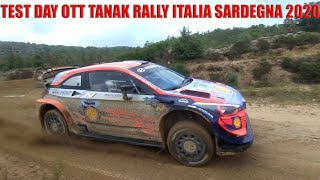TEST DAY - Ott Tanak Pre Rally Italia Sardegna 2020