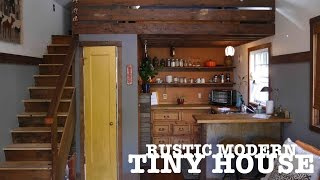 """Garage Turned Into A Tiny House- """"the Rustic Modern"""" In Portland, Or"""