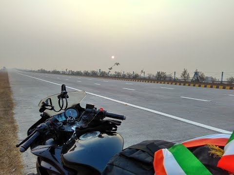 Delhi to Patna Solo Ride on YZF - R15 .