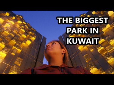 The BIGGEST Park in Kuwait (Kuwait Life Vlog : Vlog # 7) Al Shaheed Park | Three and Barista