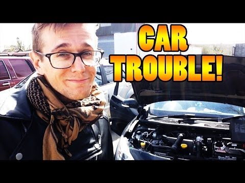 RENTAL CAR BREAKS DOWN! - Travel vlog 101 [Ireland]