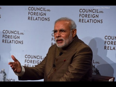 Indian Prime Minister Narendra Modi on India's Economy and U.S.-India Relations