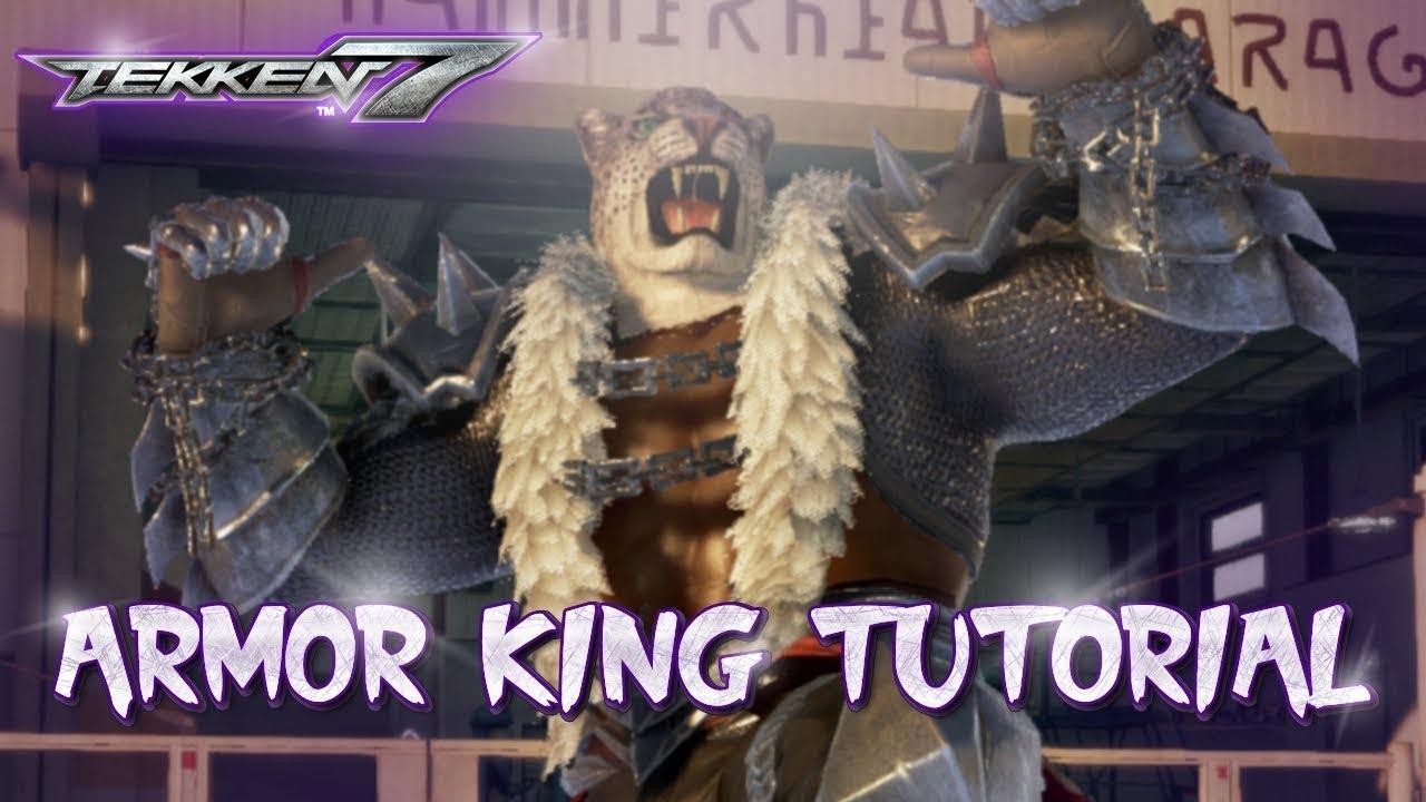 Tekken 7 video roundup — Marduk wall game, Armor King cross