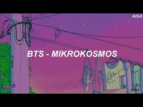 BTS (방탄소년단) – 'Mikrokosmos (소우주)' Easy Lyrics