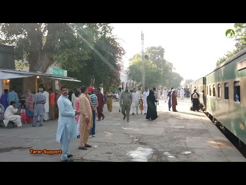 Traveling Pakistan by Train Lahore to Lodhran via Kasur Pakpattan in Punjab