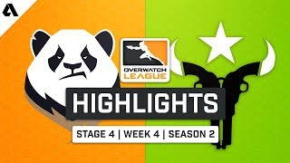 Chengdu Hunters vs Houston Outlaws | Stage 4 Week 4 Day 3 - Overwatch League S2 Highlights