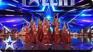 Fabulous Sisters DAZZLE with fancy footwork | Auditions | BGT 2019