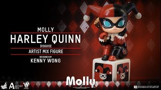 Hot Toys – AMC025 - Molly (Harley Quinn Disguise) Artist Mix Figure Designed by Kenny Wong
