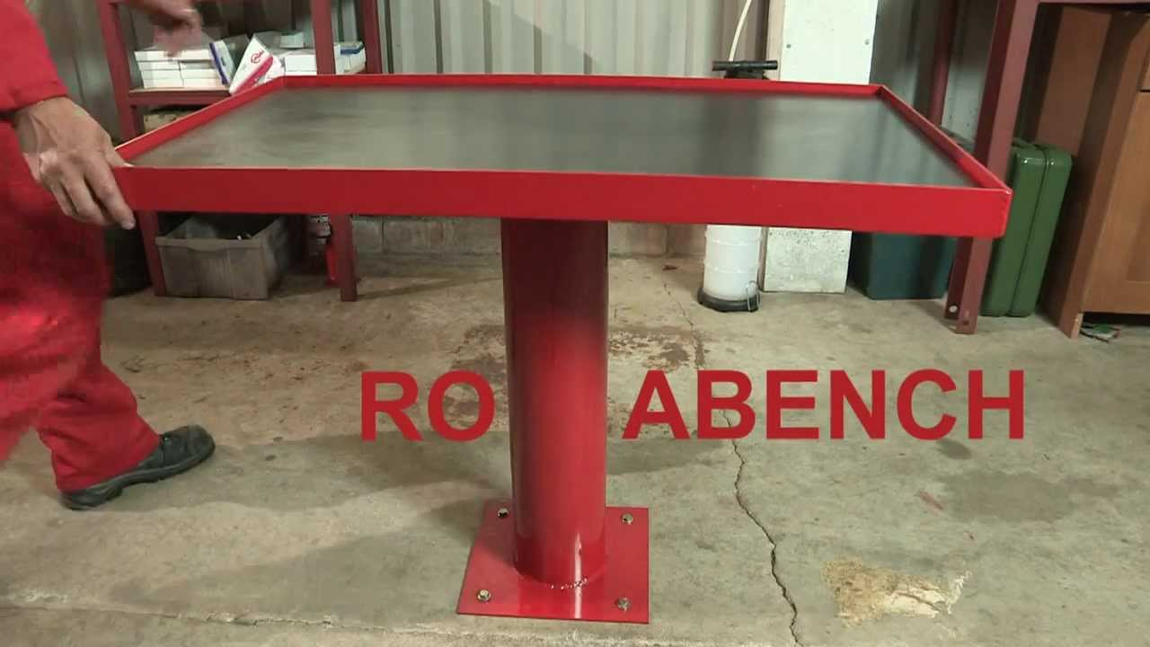 Rotabench Promo Video Rotating Work Bench With Degree Access - Rotating work table