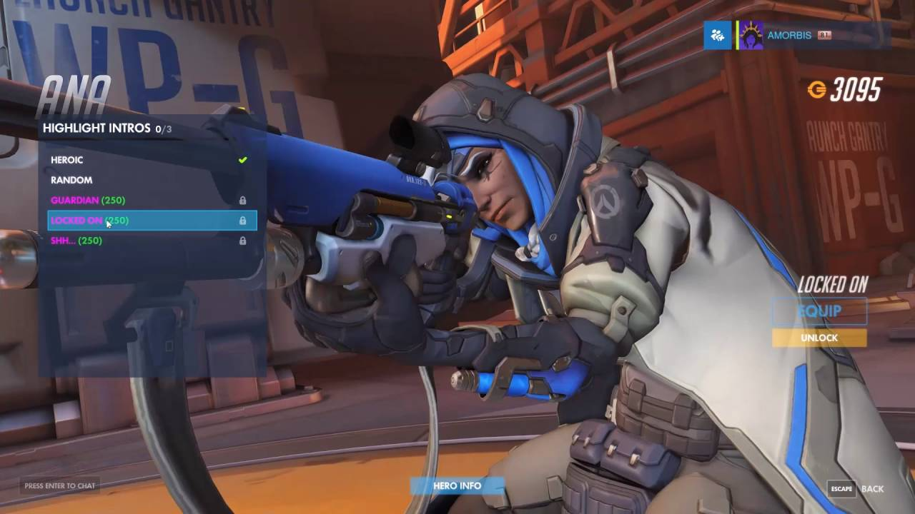 Ana Emotes overwatch - new hero ana gameplay, skins, emotes, sprays, intros, voice  lines, poses, and more