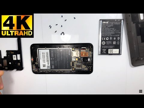 Asus Zenfone 2 Laser - разборка, замена дисплея / Disassembly, Replacement Of The Display