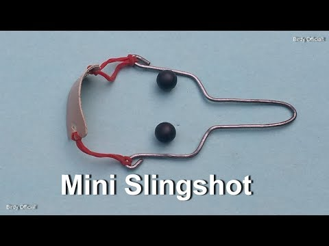 How To Make A Metal Slingshot Catapult - Best Out Of Waste Idea