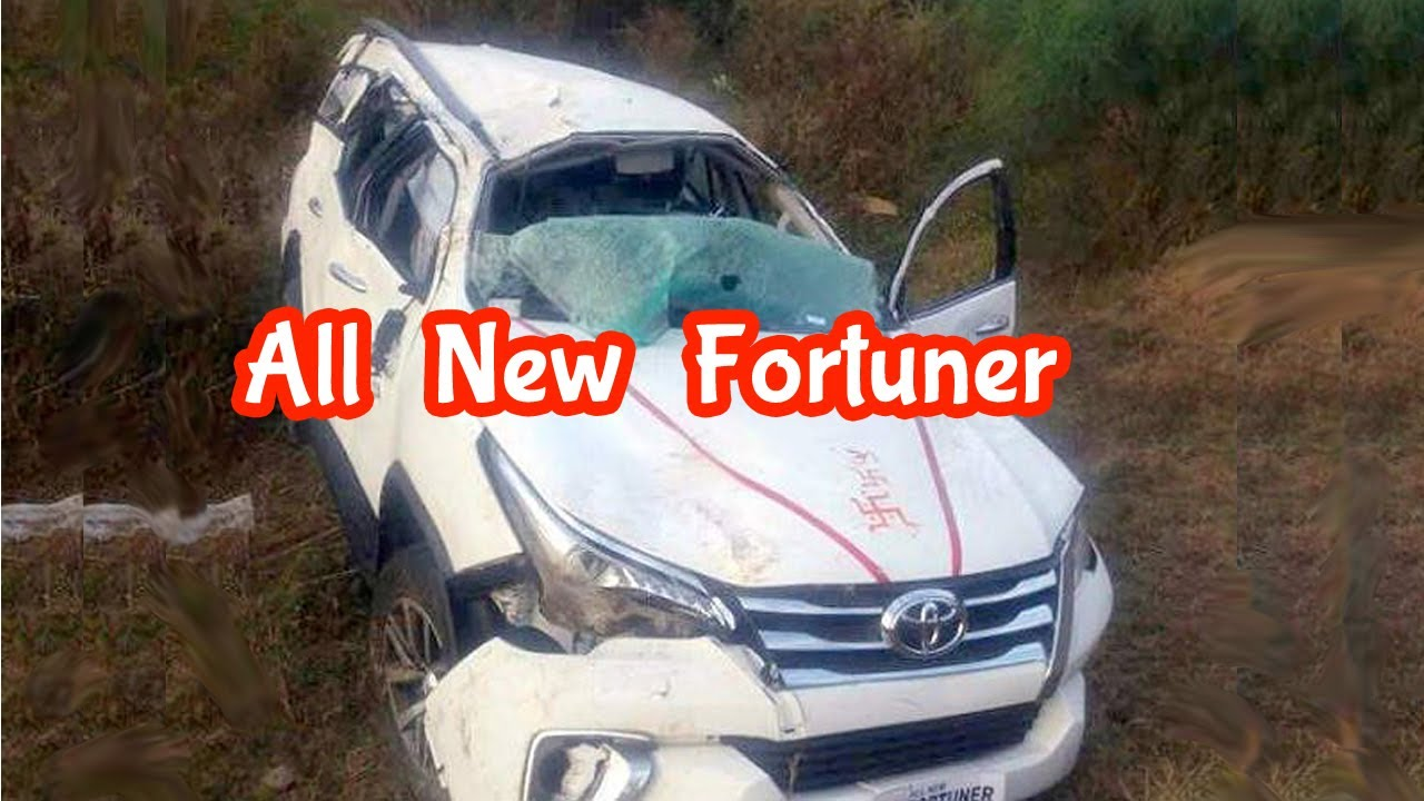 All New Fortuner Shocking Accident