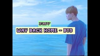 Download Lagu [FMV] Way Back Home - BTS mp3
