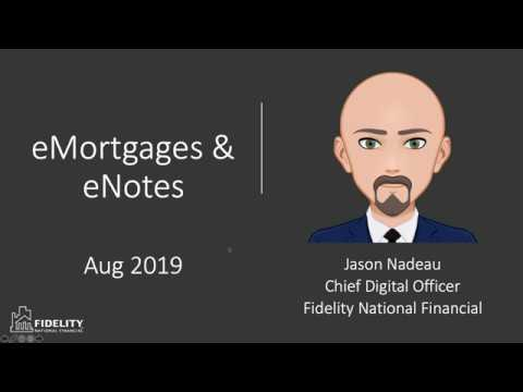 eNotes & eMortgages - What You Should Know