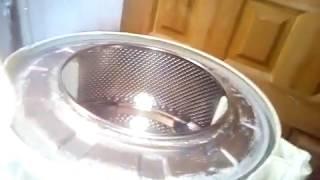 Ремонт бака стиральной машины индезит на самодельной приспособе.