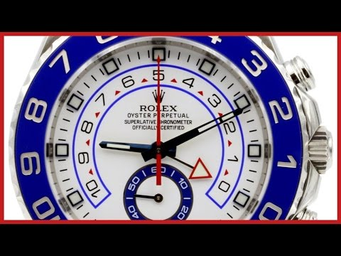 ▶ Rolex Yacht-Master II  REVIEW & How to use the Regatta Timer   44mm, Blue Ceramic Bezel, 116680